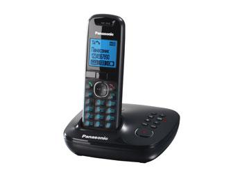 Радиотелефон DECT Панасоник KX-TG5521RUB (черный)