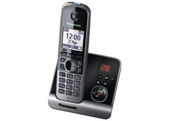 Радиотелефон DECT Панасоник KX-TG6721RUB (черный)