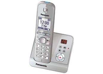 Радиотелефон DECT Панасоник KX-TG6721RUS (серебристый)