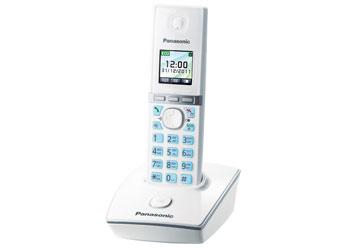Радиотелефон DECT Панасоник KX-TG8051RUW (белый)