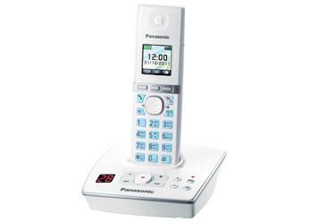 Радиотелефон DECT Панасоник KX-TG8061RUW (белый)