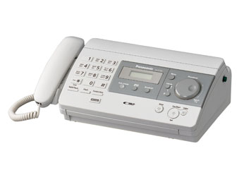 Купить Факс  Panasonic KX-FT502RUW
