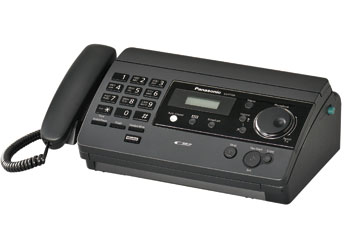 Купить Факс  Panasonic KX-FT504RUB