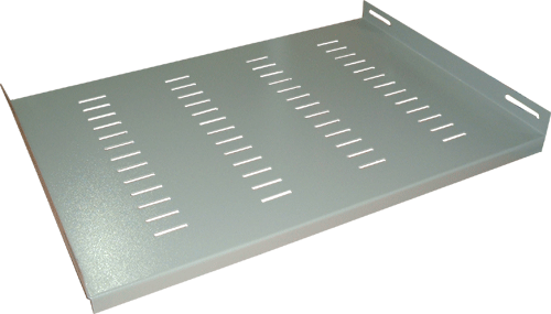 Полка стационарная для шкафов  WT-2077-GY
