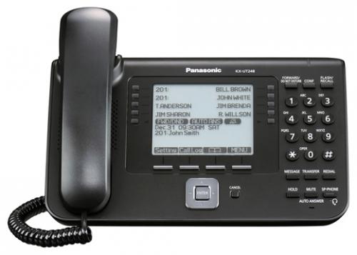 Проводной SIP-телефон Панасоник KX-UT248RU-B