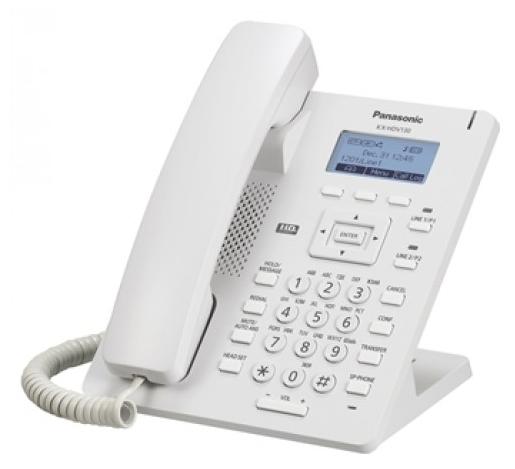 Проводной SIP-телефон Панасоник KX-HDV130RU