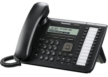 Проводной SIP-телефон Панасоник KX-UT133