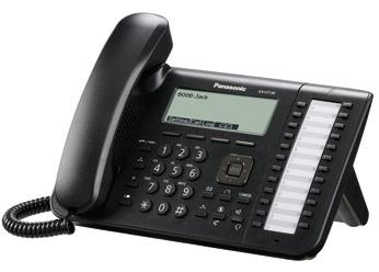 Проводной SIP-телефон Панасоник KX-UT136