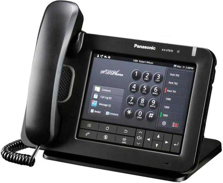 Проводной SIP-телефон Панасоник KX-UT670