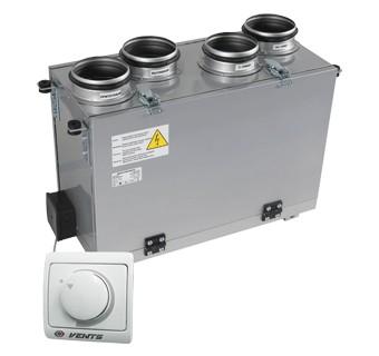 Купить Приточно-вытяжная установка Vents ВУТ 200 В мини