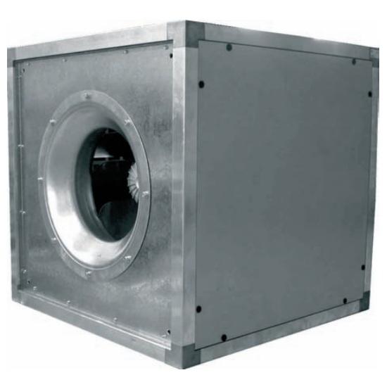 Купить Шумоизолированный кубический вентилятор LESSAR  LV-FDQS 450-4-1