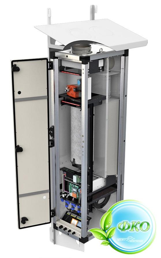 Купить Вентиляционная установка VENTMACHINE ПВУ-350 EC Zentec