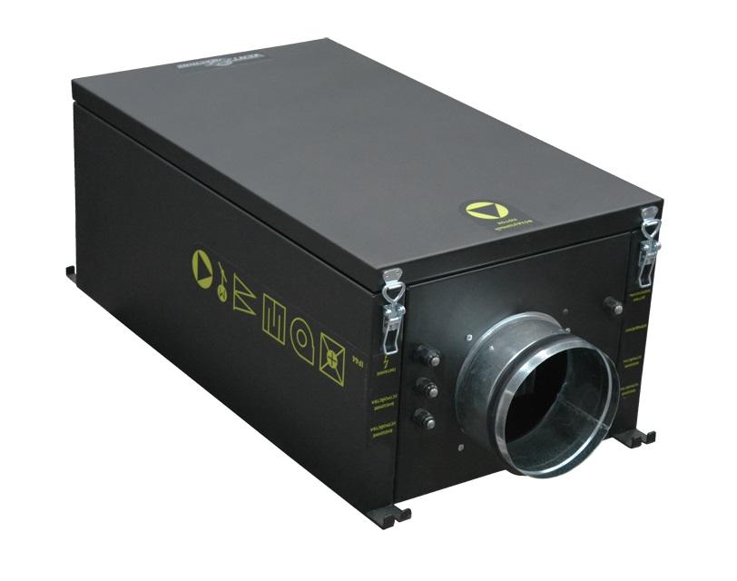 Купить Канальная приточная установка с калорифером VENTMACHINE Колибри-500 EC Zentec