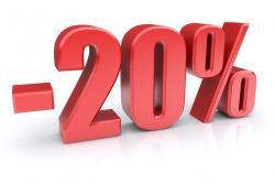 Скидка 20% - на установку кондиционеров.