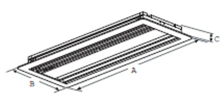 Купить Всасывающая решетка  LG PBSGB30 (IDU)