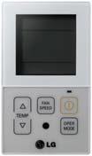 Купить Упрощённый проводной пульт LG PQRCVCL0QW (IDU)