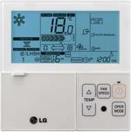 Купить Стандартный проводной пульт LG PQRCVSL0QW (IDU)