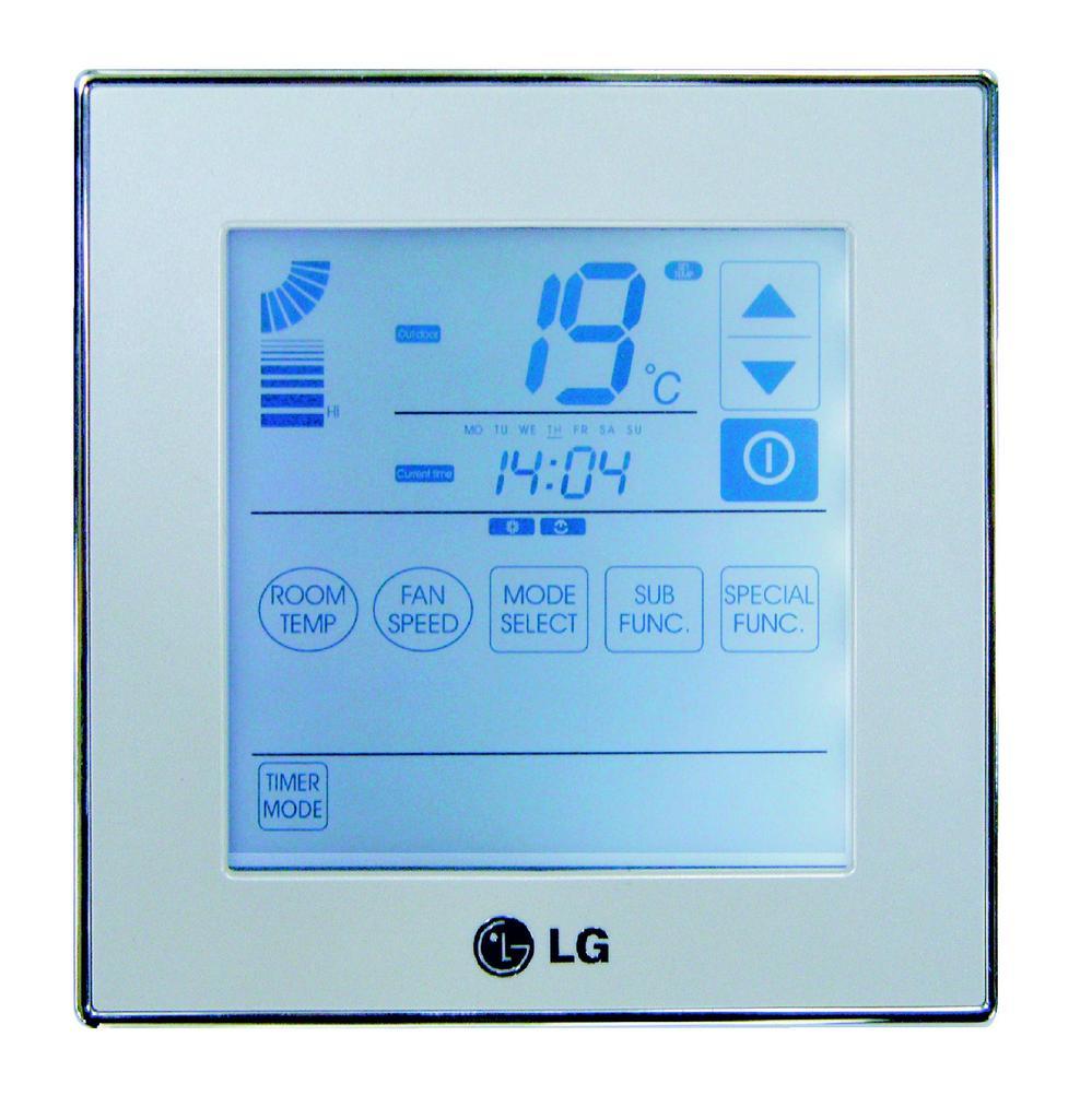 Купить Проводной пульт  Deluxe  LG PQRCUDS0 (IDU)