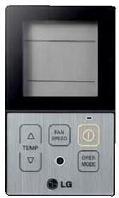 Купить Упрощённый проводной  пульт LG PQRCVCL0Q (IDU)