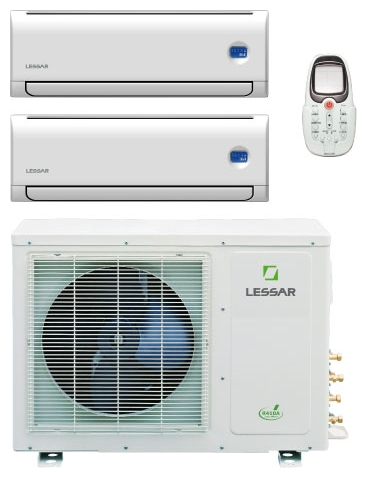 Кондиционер Lessar LS-2H(09+09)KFA / LU-2H18KFA2