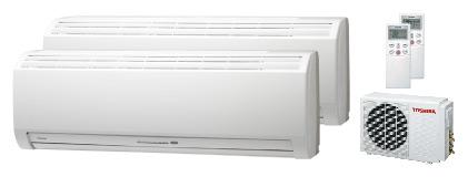 Купить Toshiba RAS-10NKHP-E x2 / RAS-M18UAH-E5 в Нижнем Новгороде
